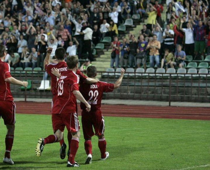 """Ekrano"" futbolininkai sekmadienį tapo Lietuvos futbolo A lygos čempionais"