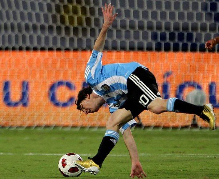 L.Messi pelnė pergalingą įvartį