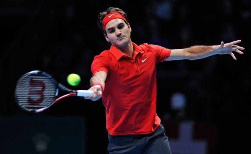 R.Federeris šventė antrą pergalę
