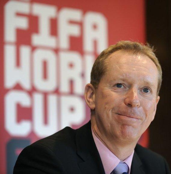 Anglijos paraiškos teikimo vadovas Andy Ansonas nusivylė FIFA balsavimo sistema.