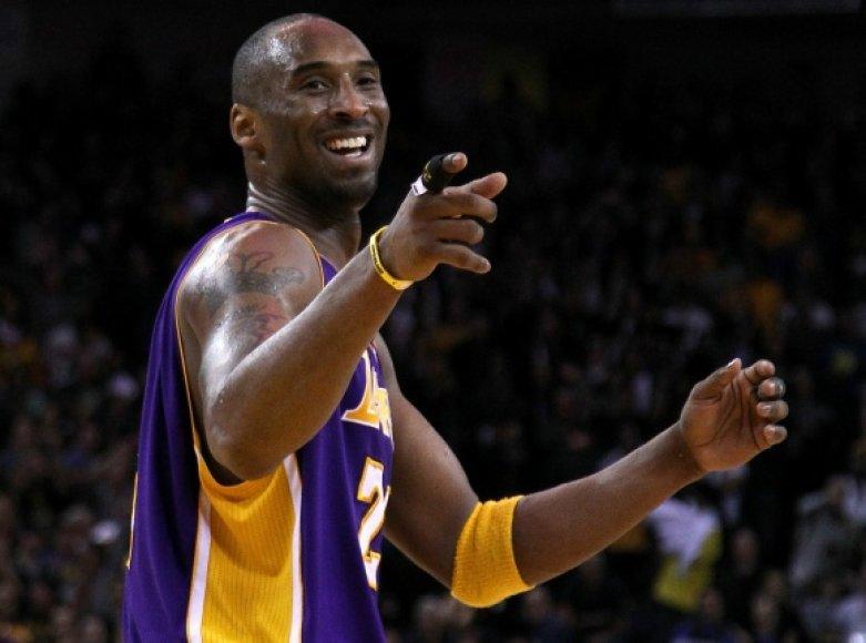 """""""Lakers"""" lyderis yra tarp rezultatyviausių visų laikų krepšininkų, bet pasieks ir nemalonų rekordą."""