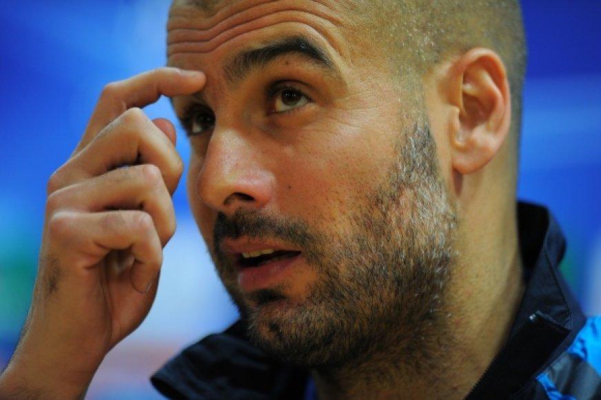 Pepas Guardiola tikisi atsigriebti atsakomosiose poros rungtynėse.