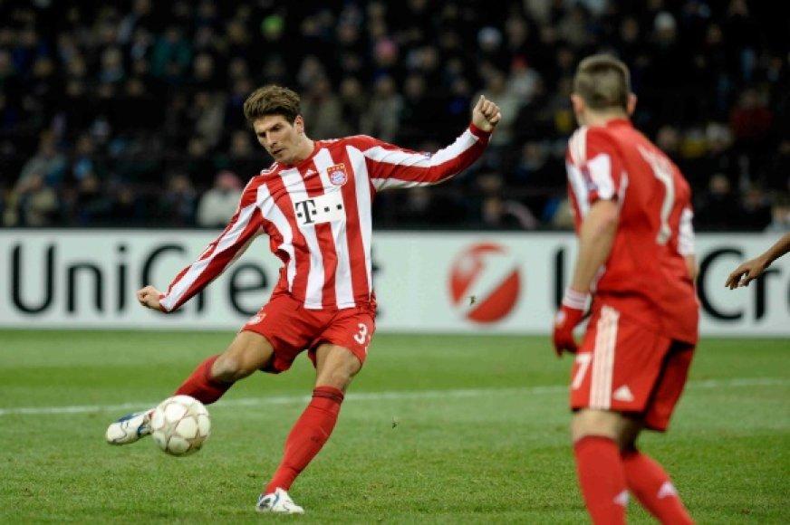 """""""Bayern"""" didvyriu tapo Mario Gomezas."""