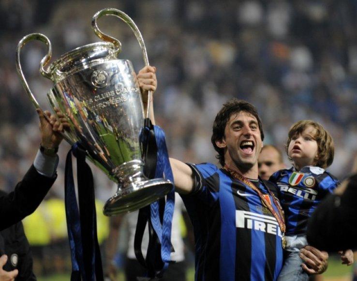 """Pernai Čempionų lygos taure džiaugėsi """"Inter"""" klubas."""