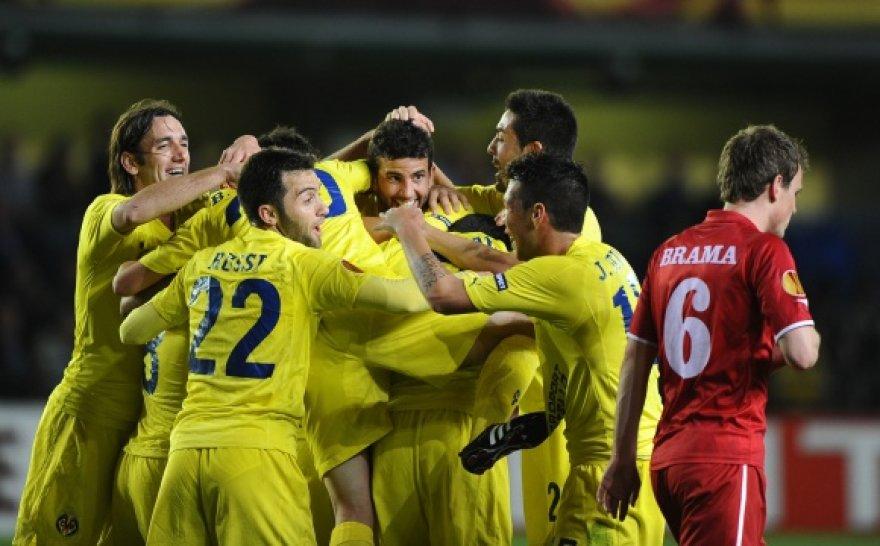 """""""Villarreal"""" futbolininkai pelnė penkis įvarčius"""