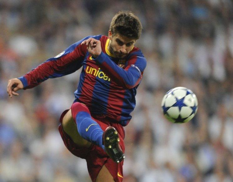 """""""Barcelona"""" gynėjas Gerardas Pique atsikirto į varžovų kritiką."""