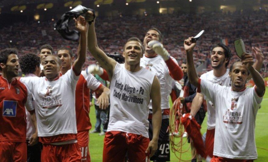 """""""Braga"""" į turnyro finalą pateko pirmą kartą per klubo istoriją."""