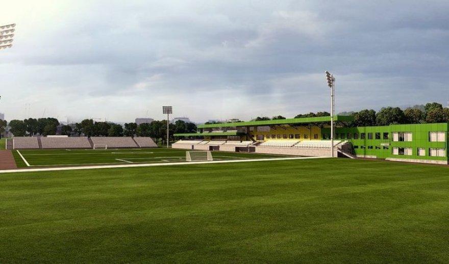LFF stadiono Vilniuje vizija – pirmas etapas.
