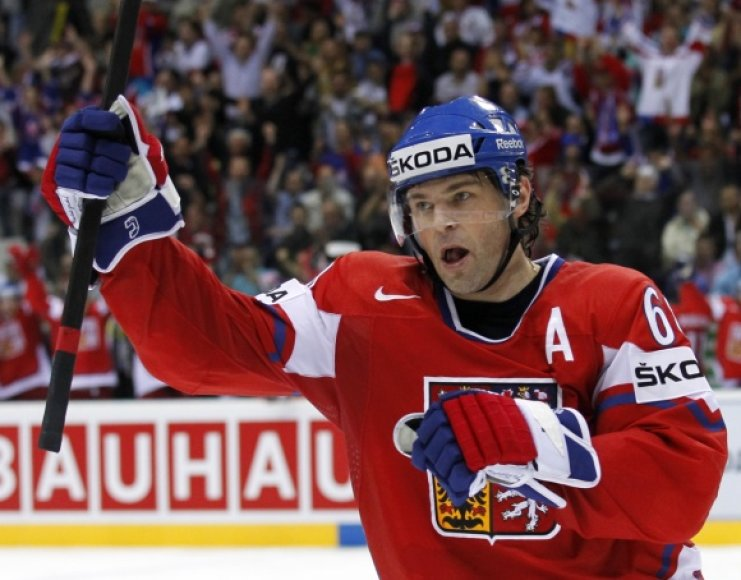 Jaromiras Jagras vėl žais NHL lygoje.
