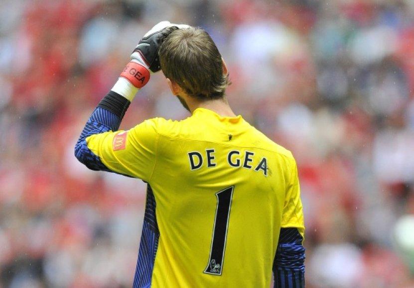 Davidas De Gea neišgelbėjo komandos nuo kuriozinio įvarčio.