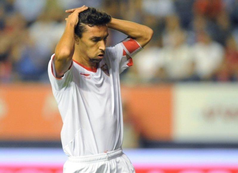 """Po lygiųjų """"Sevilla"""" pakilo į trečią vietą."""