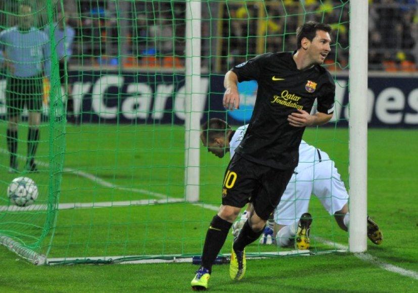 Lionelis Messi tęsia įspūdingą sezono startą