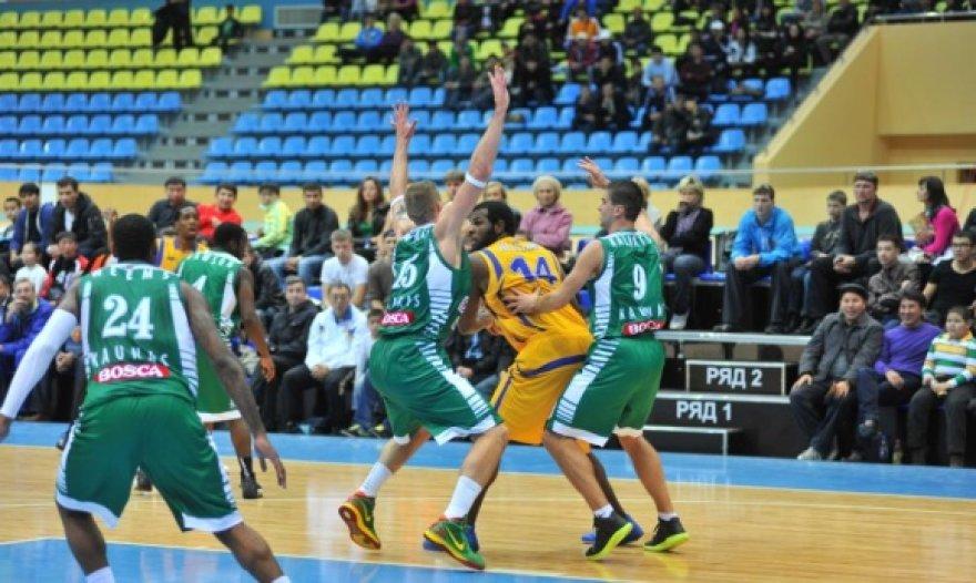 """""""Astana"""" krepšininkai nesitikėjo nugalėti """"Žalgirio""""."""