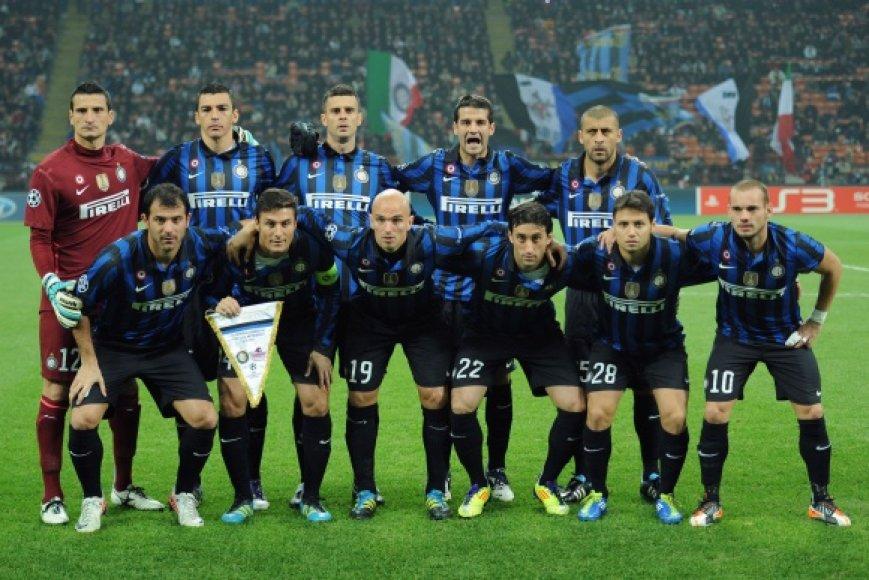 """Milano """"Inter"""" vienuolikė tapo vyriausia, žaidusia Čempionų lygos rungtynes."""