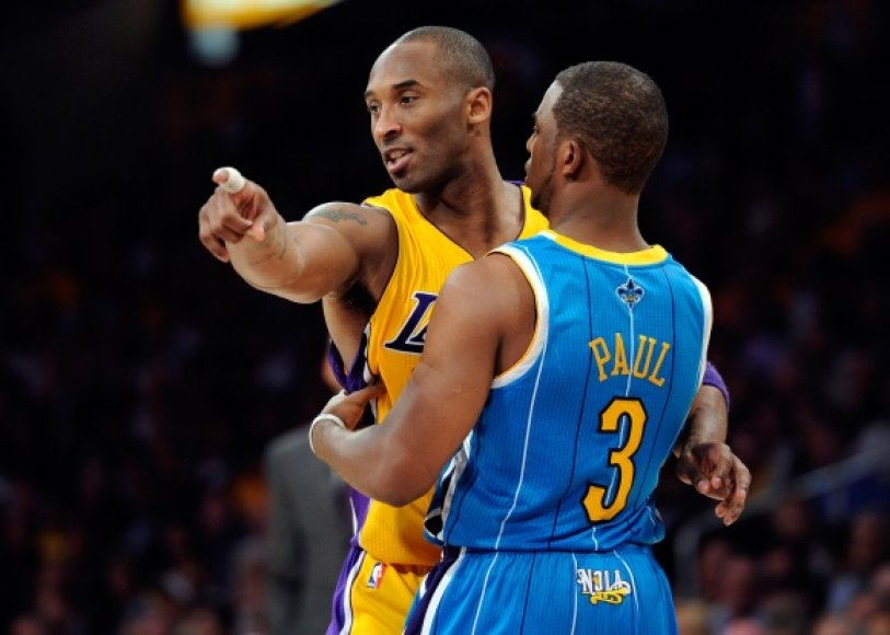 Kobe Bryantas ir Chrisas Paulas nežais vienoje komandoje.
