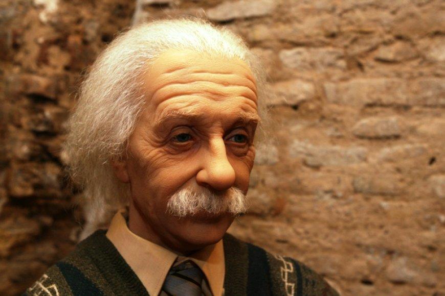 Vaškinis Albertas Einsteinas.