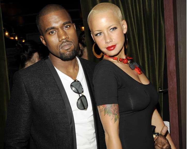 Kanye Westas su Amber Rose.