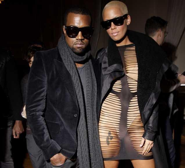Kanye Westas su mergina Amber Rose