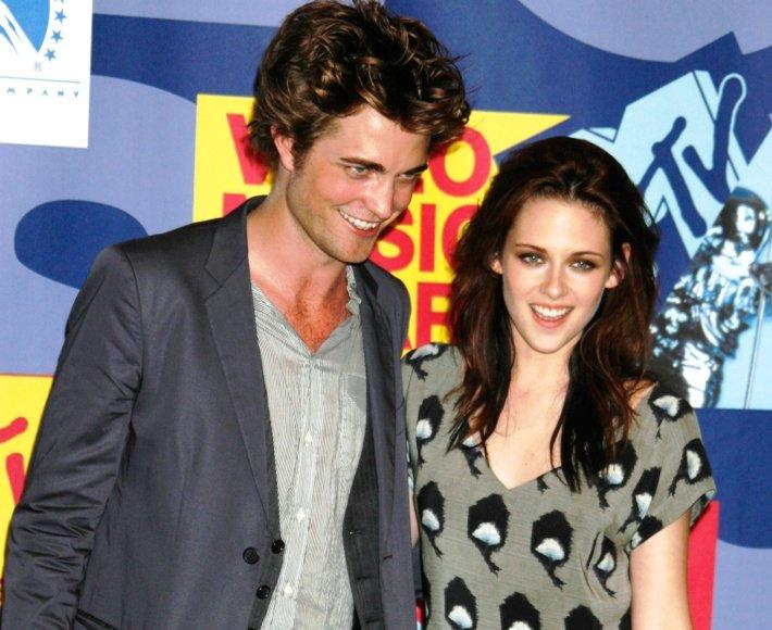 Kristen Stewart ir Robertas Pattinsonas
