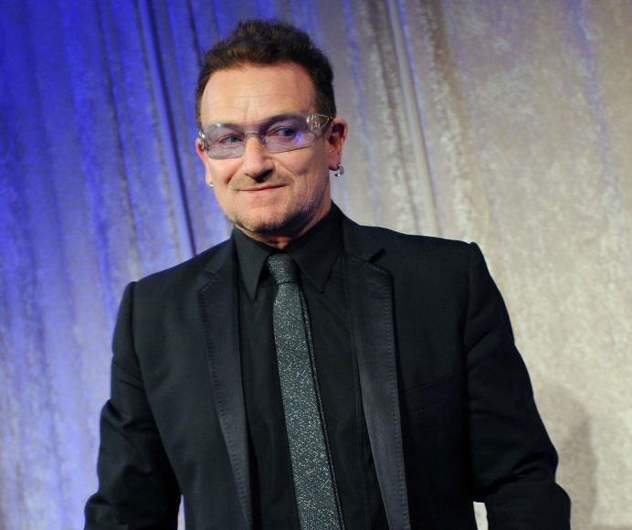 U2 lyderis Bono