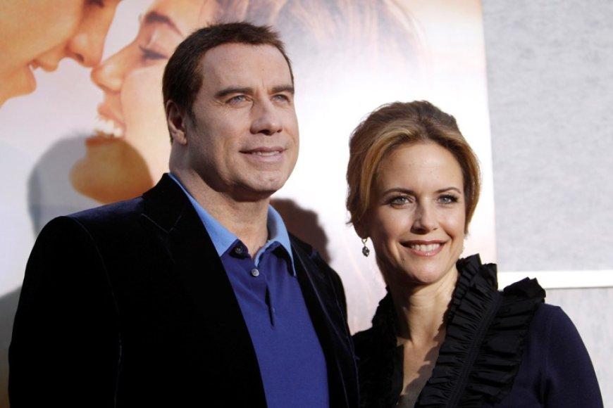 Johnas Travolta ir Kelly Preston