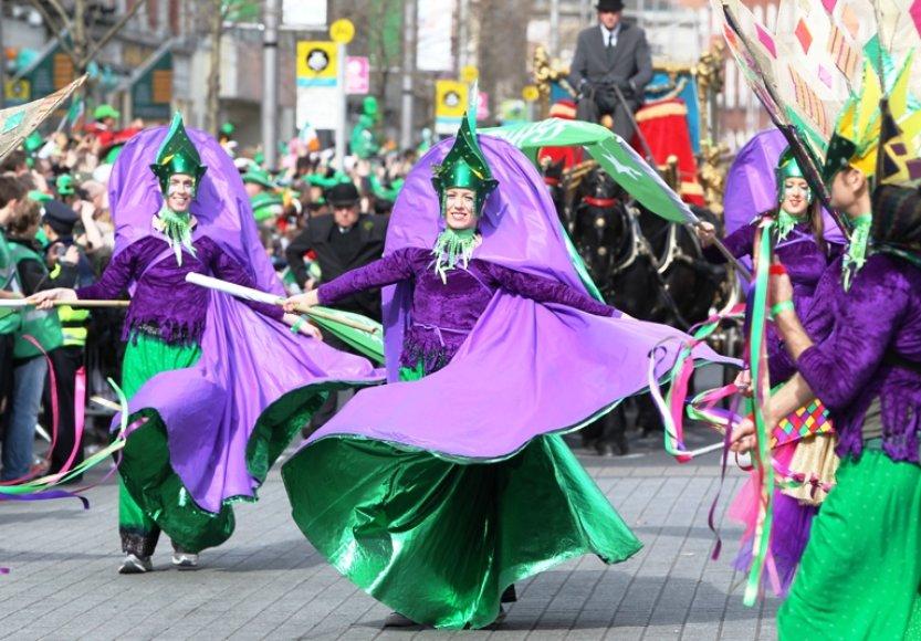 Dubline iki sekmadienio vyks Šv.Patriko dienai skirti spalvingi renginiai.