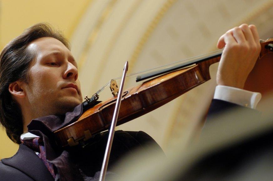 Vienas ryškiausių Lietuvos smuikininkų Vilhelmas Čepinskis