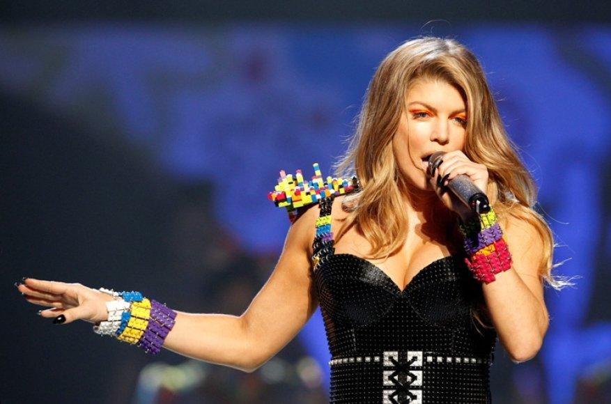 """Fergie iš grupės """"Black Eyed Peas"""""""