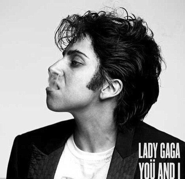 "Lady Gaga arba Jo Calderone'as ant singlo ""You And I"" viršelio"