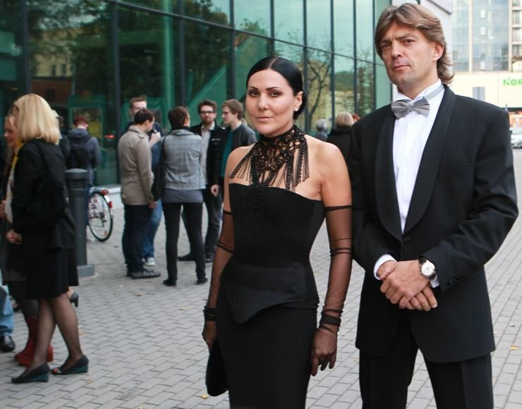 Anželika Cholina ir verslininkas Saulius Tulevičius
