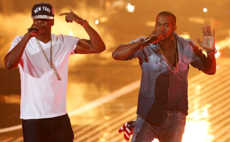 Jay-Z ir Kanye Westas