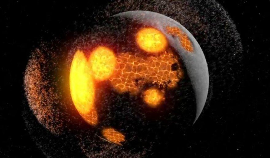 NASA paviešino įspūdingą vaizdo įrašą, kuriame parodoma, kaip formavosi Mėnulis.