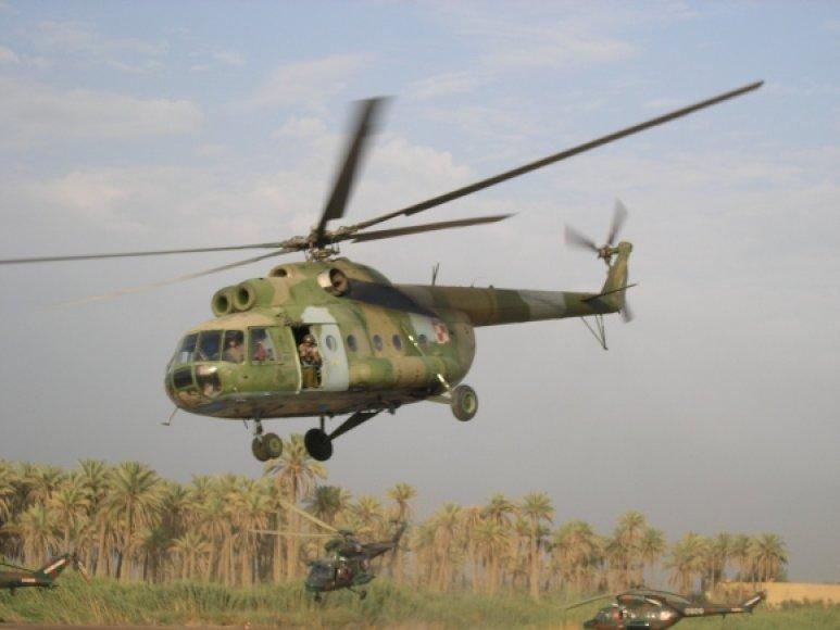 Sraigtasparnis Mi-8.