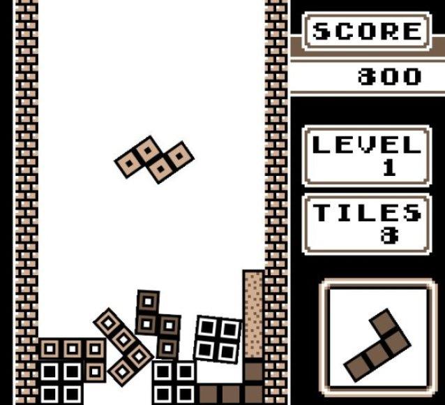"""Žaidimas """"Not Tetris""""."""