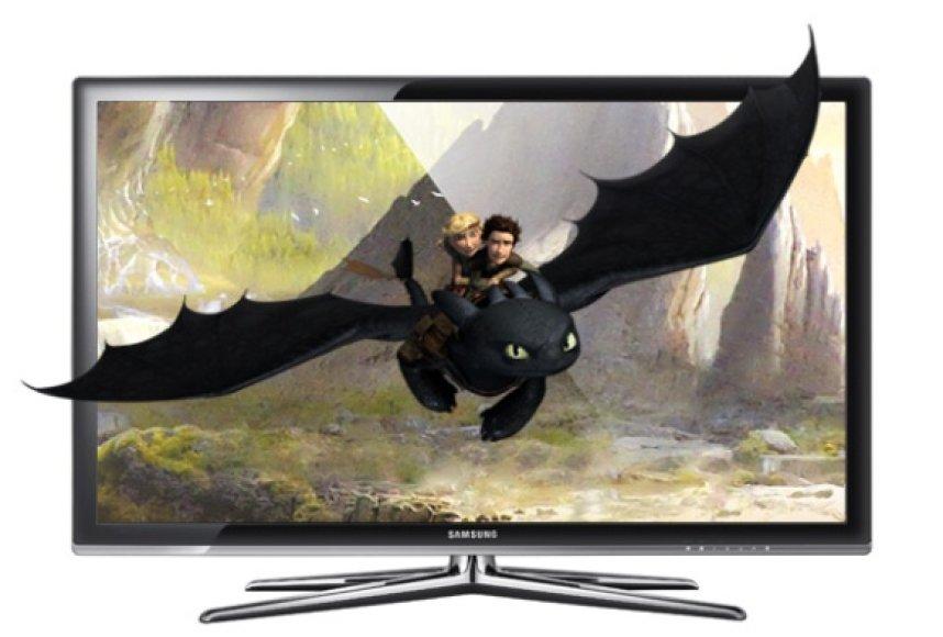 """""""Samsung UN55C7000"""" televizorius."""