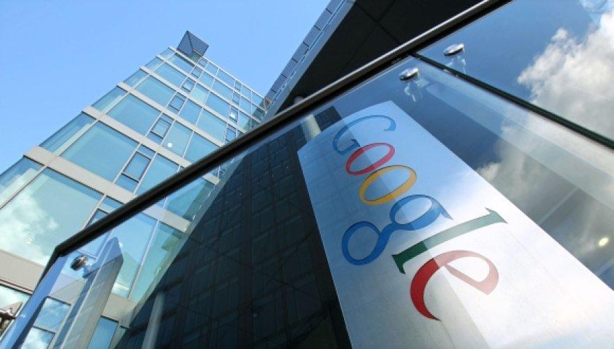 """""""Google"""" biuras Airijos sostinėje Dubline."""