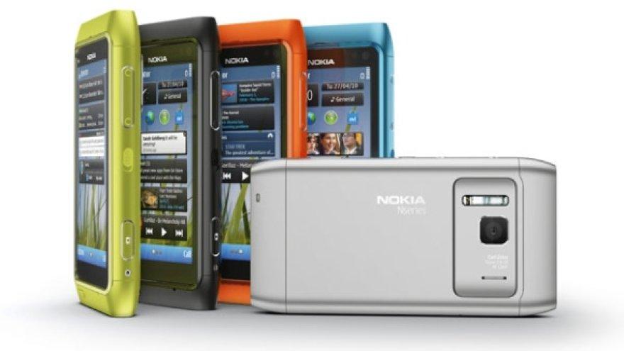 """""""Nokia N8"""" išmanusis telefonas."""