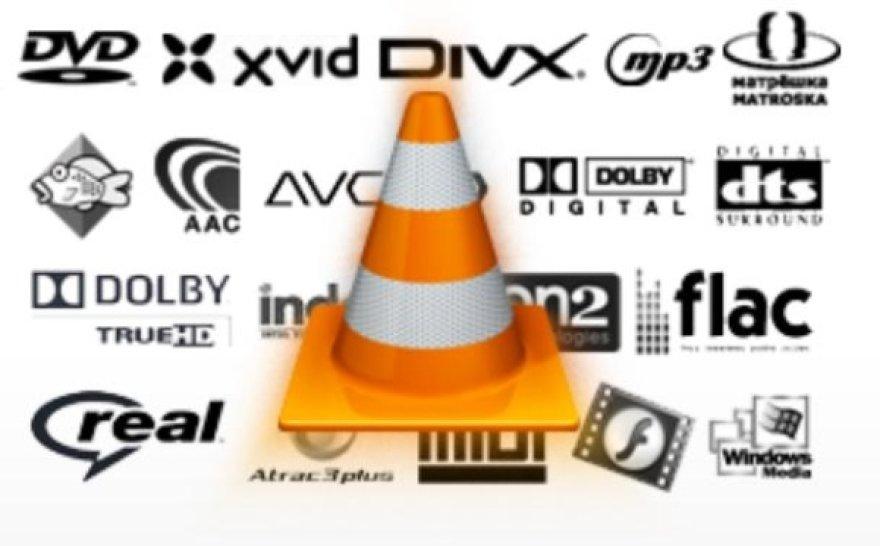 """""""VLC Player"""" grotuvas gali atkurti praktiškai bet kokį vaizdo įrašo formatą be papildomų įskiepių."""