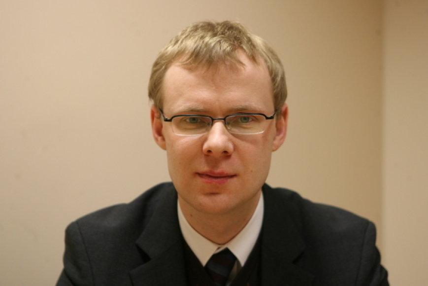 "Teisininkų kontoros ""AAA Baltic Service Company"" advokatas Andrius Iškauskas."
