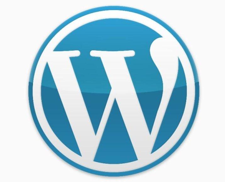 """""""Wordpress"""" logotipas"""