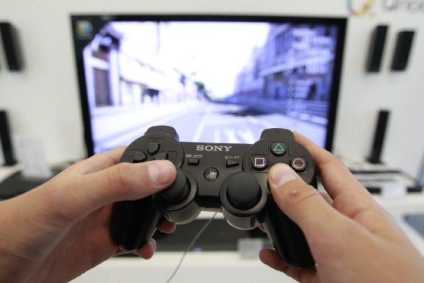 """""""PlayStation"""" žaidimų konsolės pultas"""