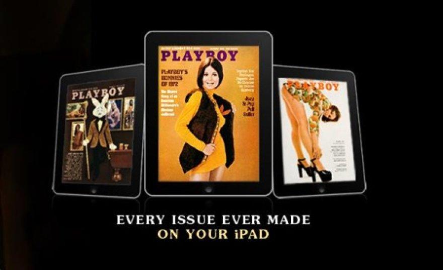 """""""Playboy"""" jau galima vartyti ir planšetiniame kompiuteryje """"iPad""""."""