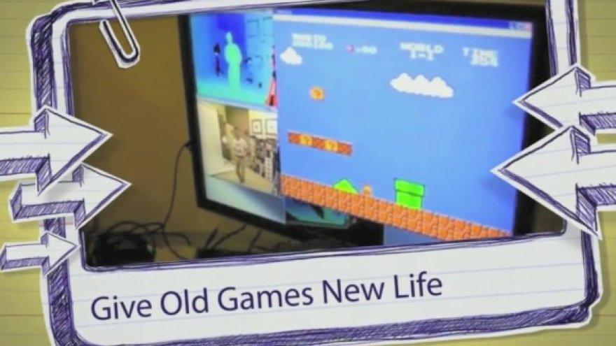 """""""Ką su """"Kinect"""" galite sukurti jūs?"""" – retoriškai klausia """"Microsoft""""."""