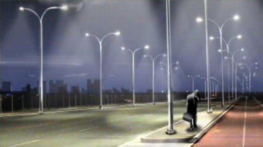 Olandijoje testuojama išmanioji gatvių apšvietimo sistema, kuri nustato įprastinį apšvietimą, kai gatvėje pasirodo judantys pėstieji, dviratininkai ar automobiliai.