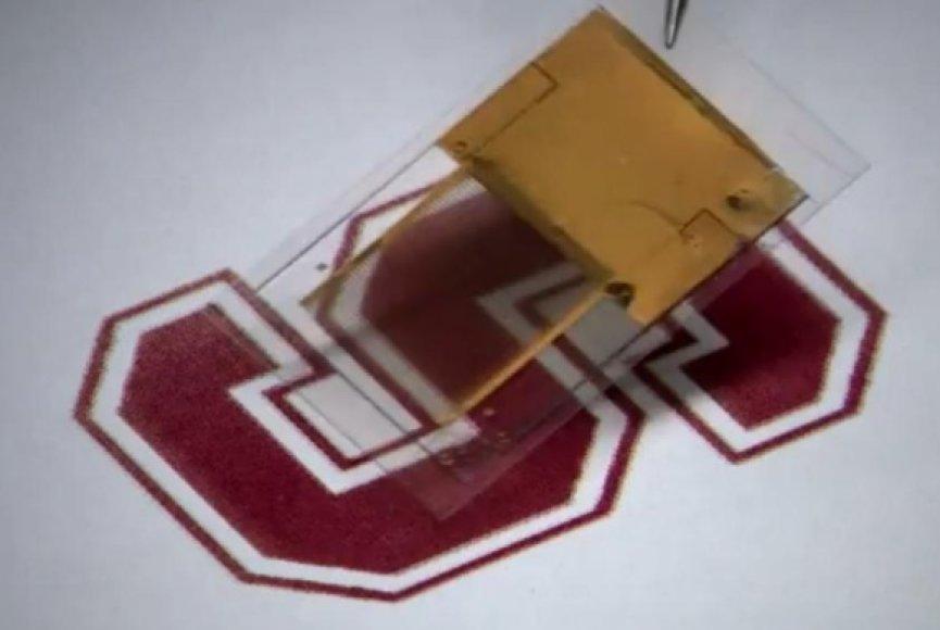 Stanfordo universiteto mokslininkai sukūrė permatomą elementą.