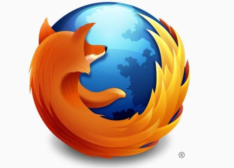 "Interneto naršyklės ""Firefox"" logotipas"