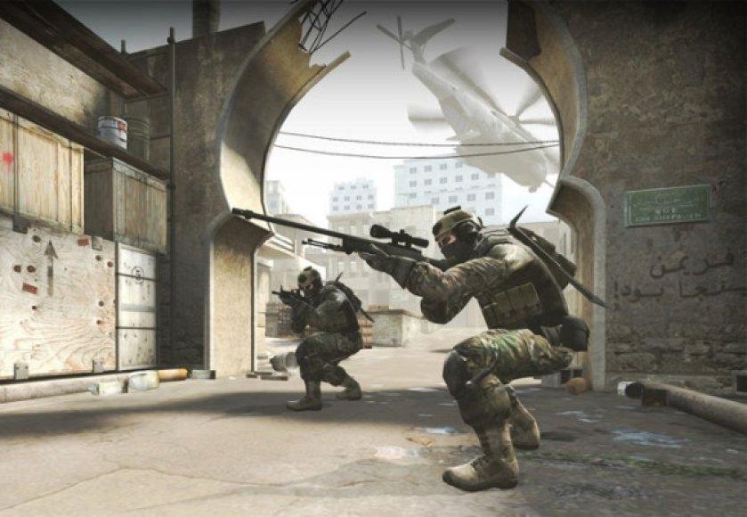 """Žaidimo """"Counter-Strike: Global Offensive"""" akimirka"""