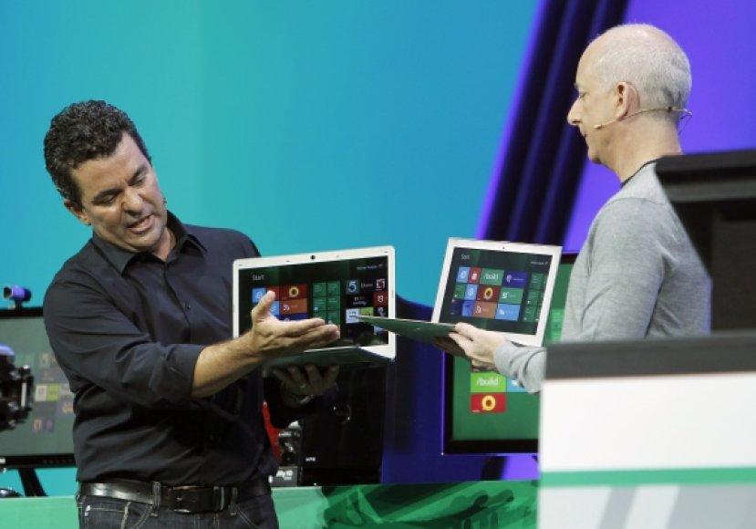 """Windows 8"" pristatymo akimirka"