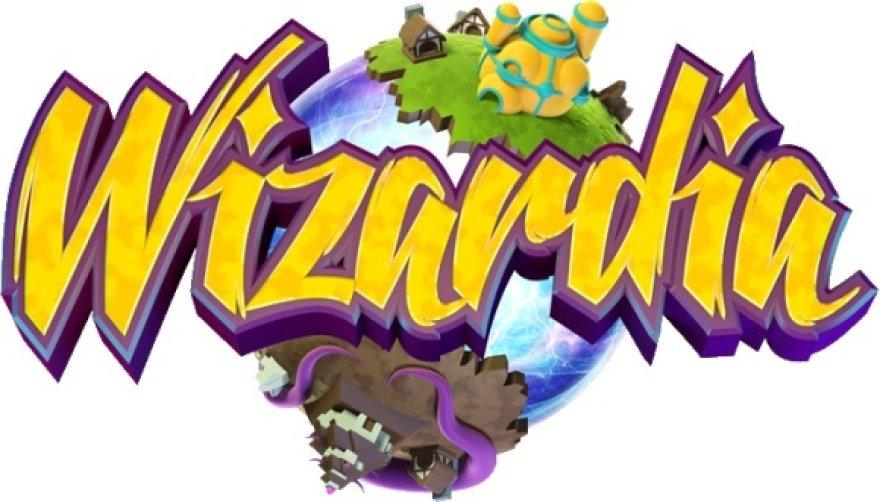 """Žaidimo """"Wizardia"""" logotipas."""