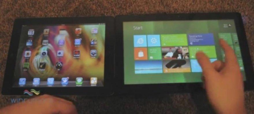 """""""Winrumors"""" žurnalistai palygino operacinių sistemų """"iOS 5"""" ir """"Windows 8"""" funkcionalumą."""